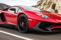 The beastly Lamborghini Aventador makes some noise as it roars down the highways of Bologna with Cindy-Lou Dale at the controls.