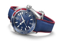 Omega gets in on the Winter Olympics excitement with the release of the limited-edition Seamaster Planet Ocean PyeongChang 2018 timepiece.