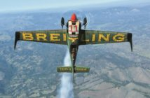 Breitling Racing Team's Mikael Brageot shares his air racing aspirations, his preparations for the Red Bull season, and living life right on the edge.