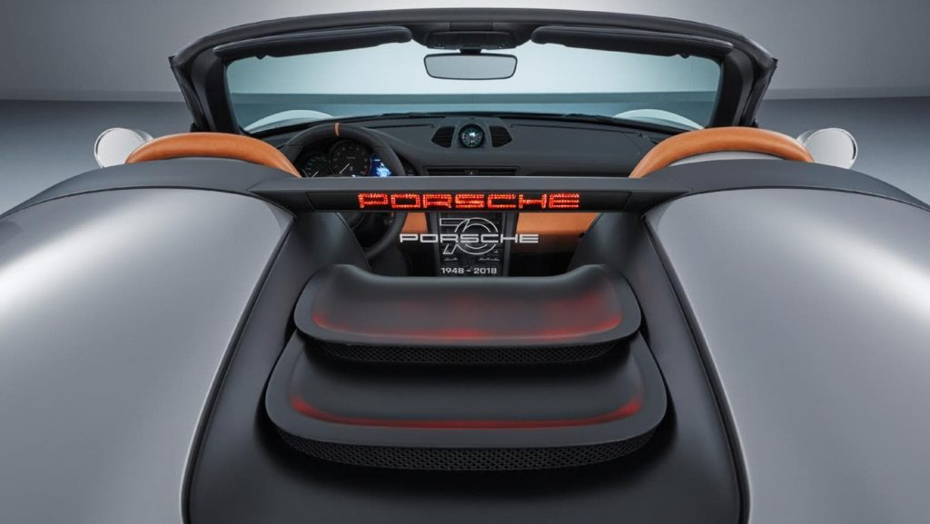 porsche speedster concept