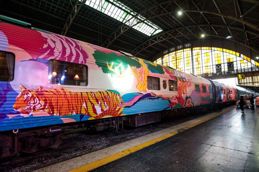 The Tiger Express Belmond Eastern & Oriental Express
