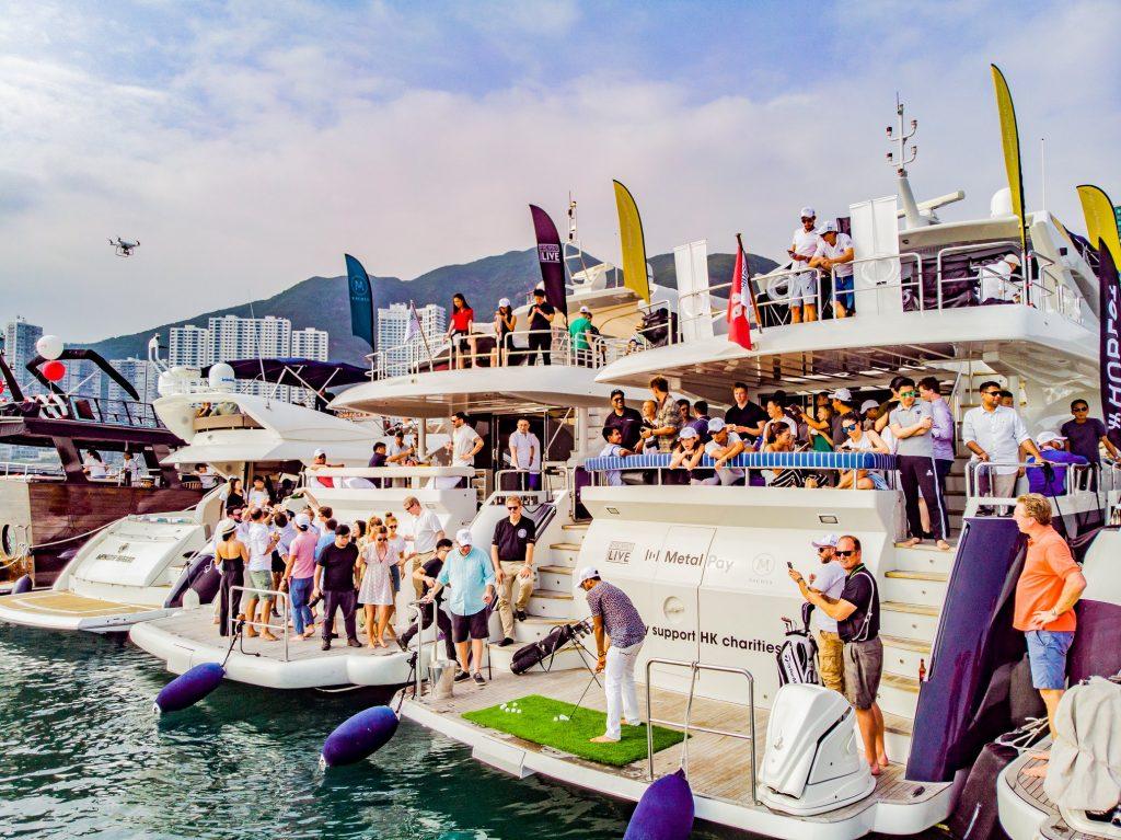 yacht golf hong kong