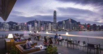 Harbourside Grill Hong Kong dining steakhouse wine restaurant