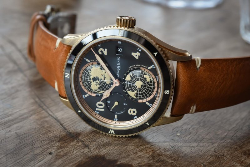 Montblanc has added to its acclaimed 1858 Collection, which takes its inspiration from the legendary Minerva watches from the 1920s and 30s that were meant for military use and mountain exploration.