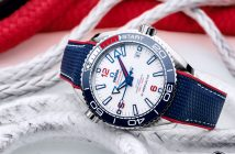 Official timekeeper Omega celebrates the world's greatest yacht regatta with the Seamaster Planet Ocean 36th America's Cup Limited Edition timepiece.