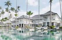 Located on Bintan Island, just off Singapore, The Sanchaya is a contemporary beachfront retreat with just a touch of Old World glamour.
