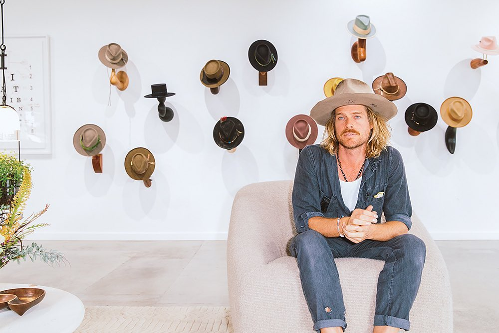 LA-based milliner Nick Fouquet has taken inspiration from his travel experiences across the globe to produce hats that cater to style-savvy connoisseurs.