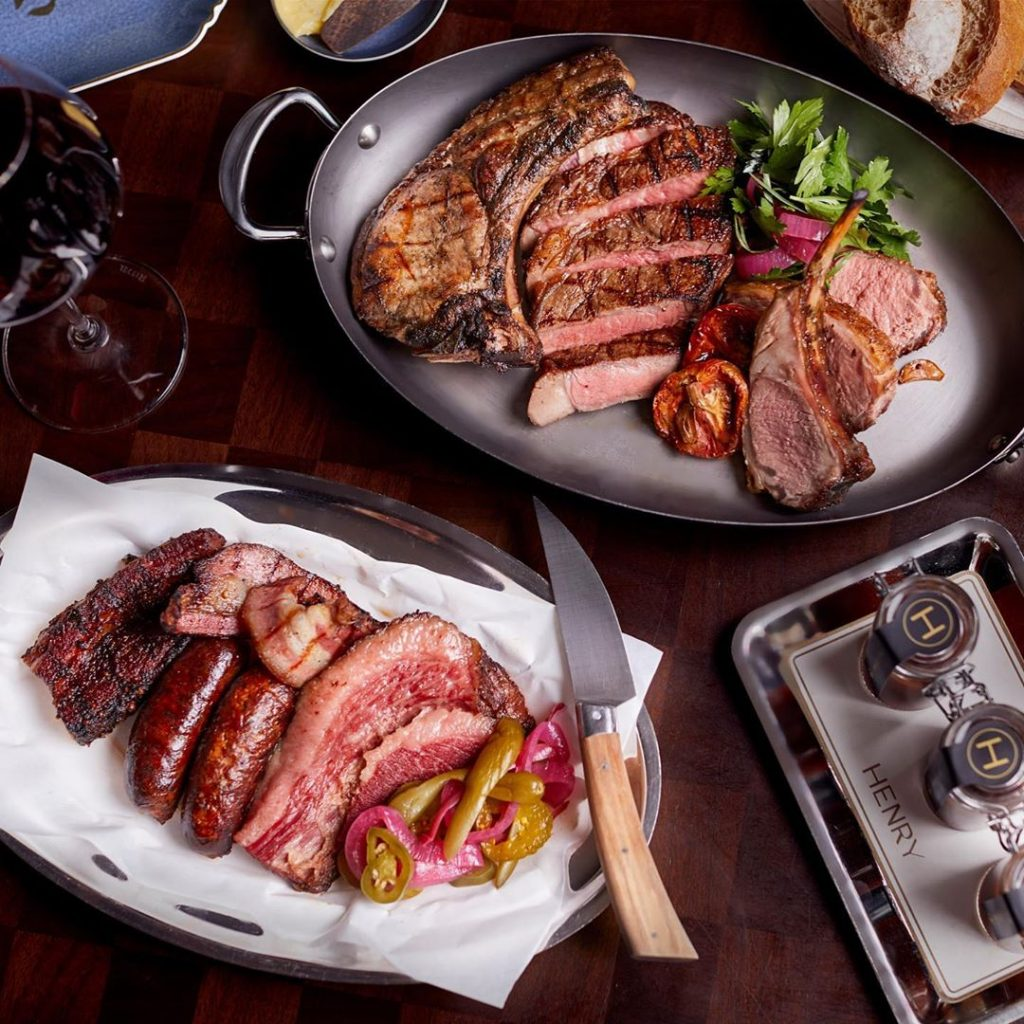 Henry - If your inner-carnivore is waking and starting to growl, you might want to make a booking at one of these top Hong Kong steakhouses.