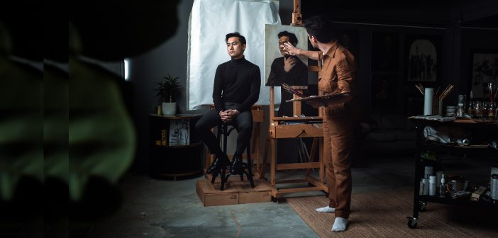 Portrait artist Brendan Fitzpatrick has returned to Hong Kong to rediscover his roots, re-identify with the city and open his new studio in Wong Chuk Hang.
