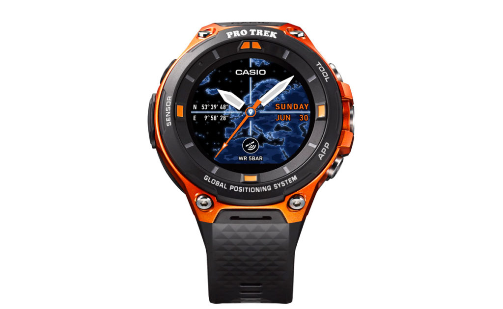Casio's newest innovation, the Smart Outdoor Watch, is designed for men looking to venture further afield than ever before.