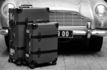 British luxury brand Globe-Trotter takes inspiration from the latest James Bond flick to create the new No Time to Die luggage collection.