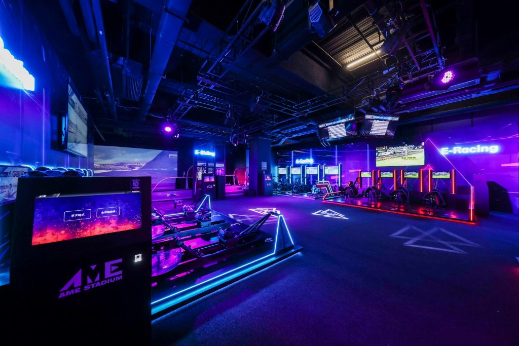 Realise your full virtual potential with the AME E-Sports Stadium, Hong Kong's first e-sports arena.