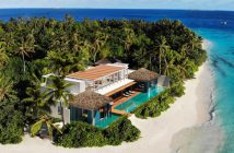 The newly-opened Raffles Royal Residence at the Raffles Maldives Meradhoo resort just might be your perfect post-lock down location.