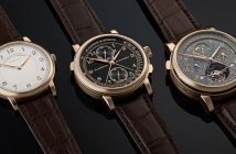 """A. Lange & Söhne has added three extraordinary new models of the brand's 1815 watch family with the epithet """"Homage to F. A. Lange""""."""