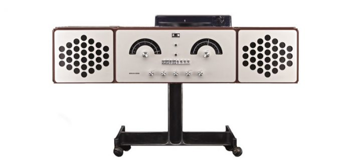 Marrying stunning retro lines with world-class sound, the Radiofonografo isn't just a great stereo, it's a piece of Italian design history.