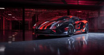 Coinciding with the launch of its new stunning new Lounge Tokyo space, Lamborghini has unveiled the striking Aventador S x Yohji Yamamoto in collaboration with the acclaimed Japanese fashion designer.