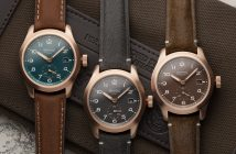 If you like a certain militarism in your personal style, you'll love the new Broadsword Bronze timepieces from Bremont.