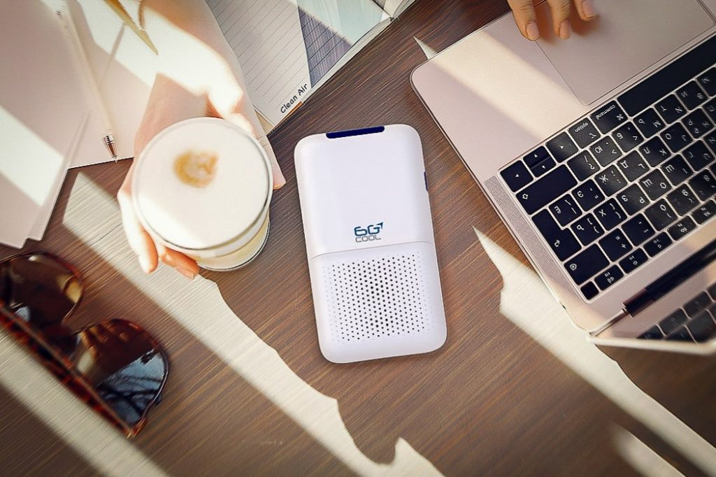 6G Cool Mobile Air Purifier - It's been a hell of a year and who knows what's next. Show your closest mates you've got their back with one of these he-tastic gift ideas.