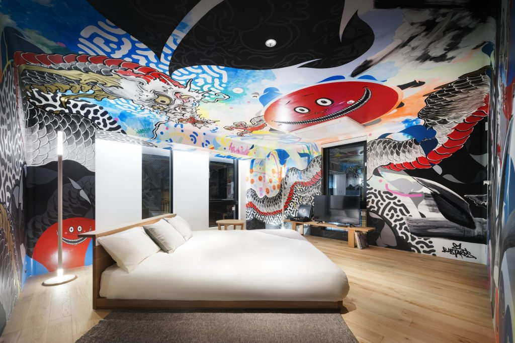 Looking for inspiration where you lay your head? These are the coolest art and design hotels in Tokyo.