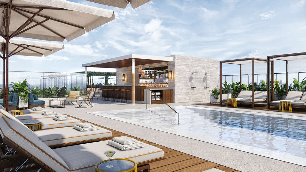 Thompson Hollywood - From chic urban hideaways to new tropical shrines to sunshine, 2021 will see an array of new hotels and resorts opening across the globe. Here are some of our favourites.