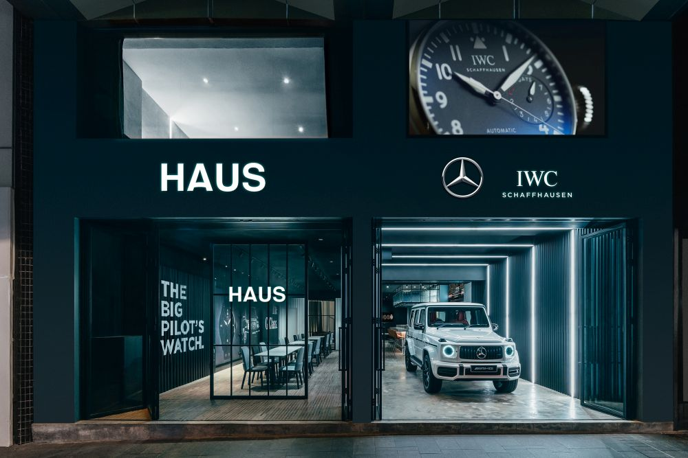 A new haven for lovers of watches and sexy whips, HAUS has opened in Central Hong Kong.