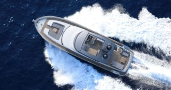 Azimut has launched the new Magellano 66, a modern navetta for gentle cruising.
