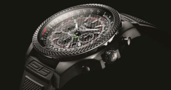 A tribute to the Continental GT3 and Bentley's motorsport victories, the new Bentley GT3 chronograph from Breitling is all about performance.