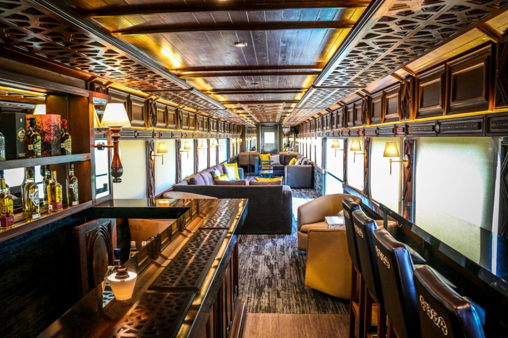 It's time you headed for the Mexican badlands, where the Jose Cuervo Express train just added touch of luxury to an epic booze cruise.