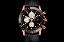 Breitling has released its iconic Chronoliner timepiece in a new limited-edition red gold series that will appeal to aviation aficionados, whether in aircraft cockpits or cabins.