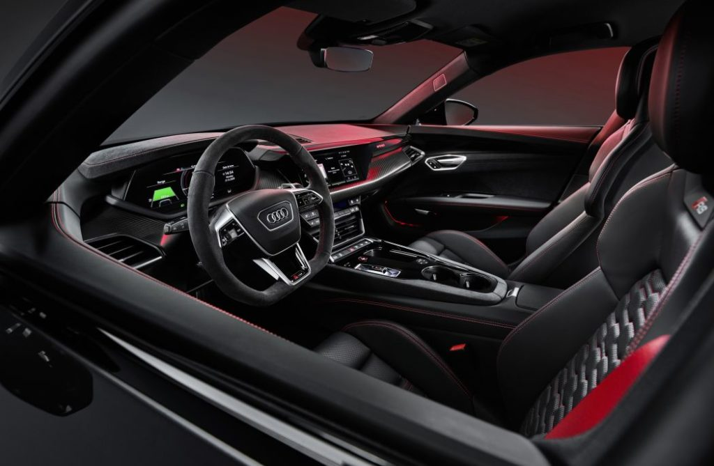 Combining beautiful design, captivating performance and progressive technology the all-electric 2022 Audi e-tron GT gets our hearts thumping.