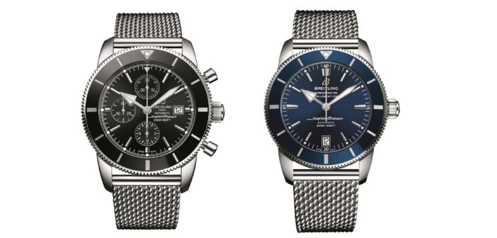 Breitling has redesigned its Superocean Heritage line, a collection dedicated to modern-day explorers, to coincide with its 60th anniversary.