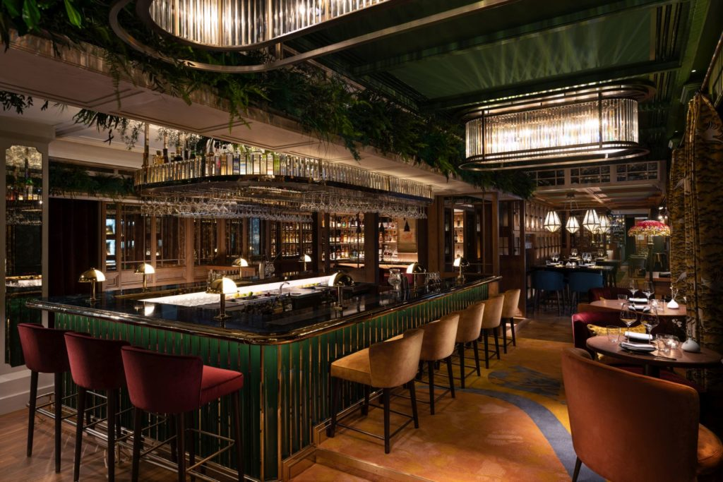The Aubrey has opened at Mandarin Oriental Hong Kong, offering diners an eclectic and elegant izakaya experience in the heart of the city.