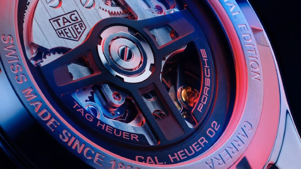 The first result of a new luxury brand collaboration, the Tag Heuer Carrera Porsche Chronograph is packed with iconic design features.