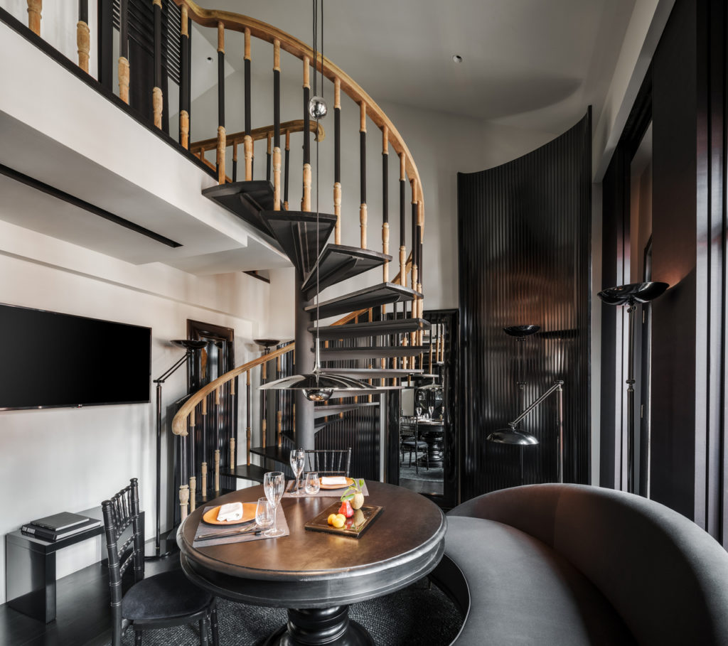 Duxton Reserve, a new boutique hotel in Singapore, boasts a design that oozes international sophistication and intrigue.