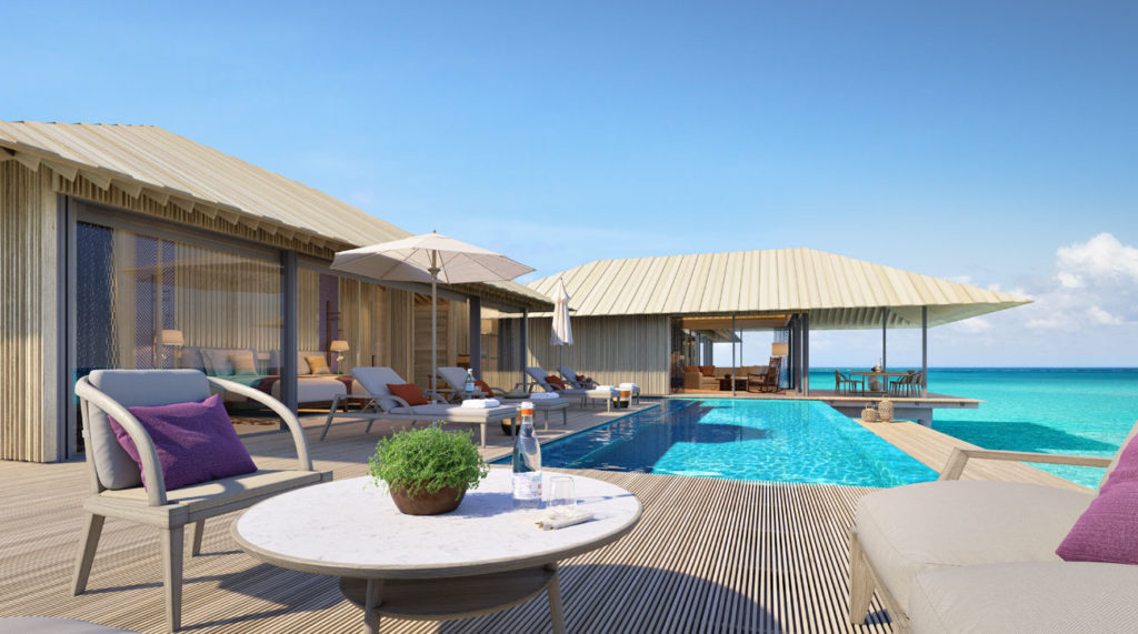 The Ritz-Carlton Maldives fari Islands - From chic urban hideaways to new tropical shrines to sunshine, 2021 will see an array of new hotels and resorts opening across the globe. Here are some of our favourites.