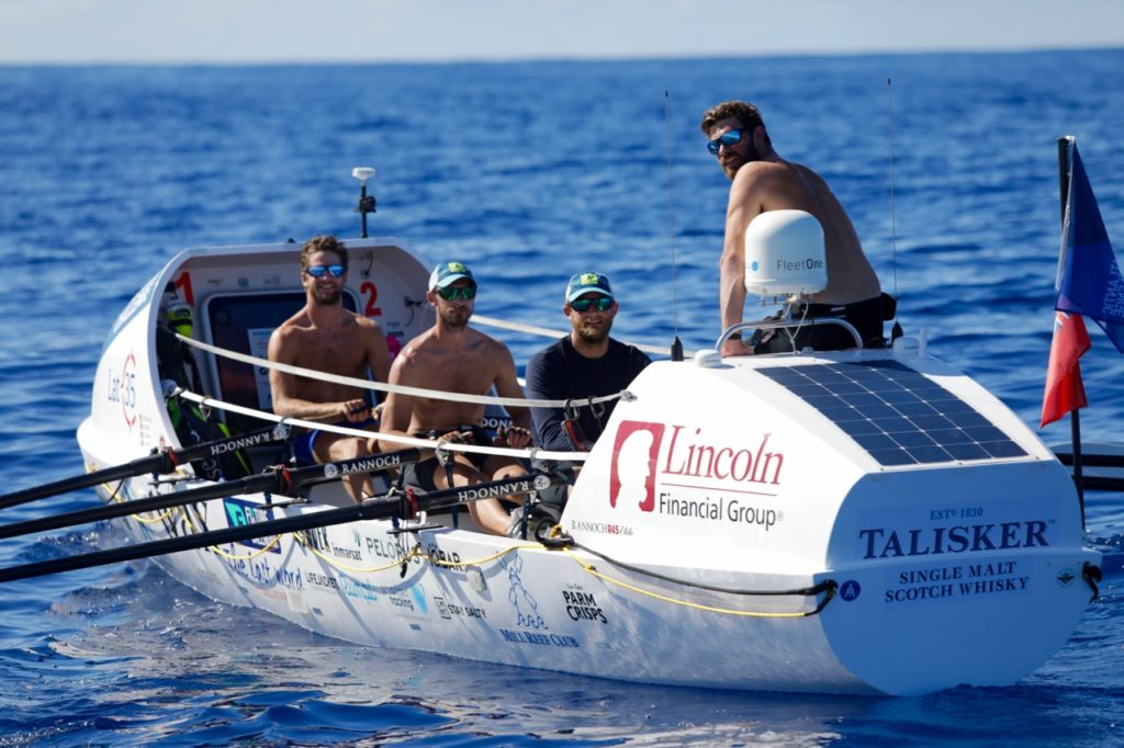 Jimmy Carroll, co-founder of travel company Pelorus, and a member of team Latitude 35, on marlin attacks, ocean conservation, and the challenges of rowing the Atlantic Ocean.