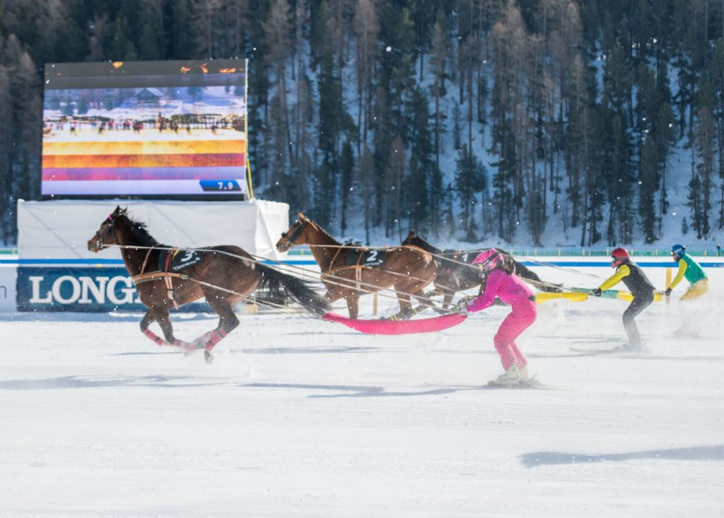 As winter descends on St. Moritz, the world's glamorous prepare for White Turf, one of the most historic horse racing events on the global calendar discovers Nick Walton.