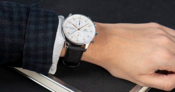Looking to reduce its impact on the environment, IWC Schaffhausen has unveiled its stylish new TimberTex straps, made from a low-impact paper-based material.