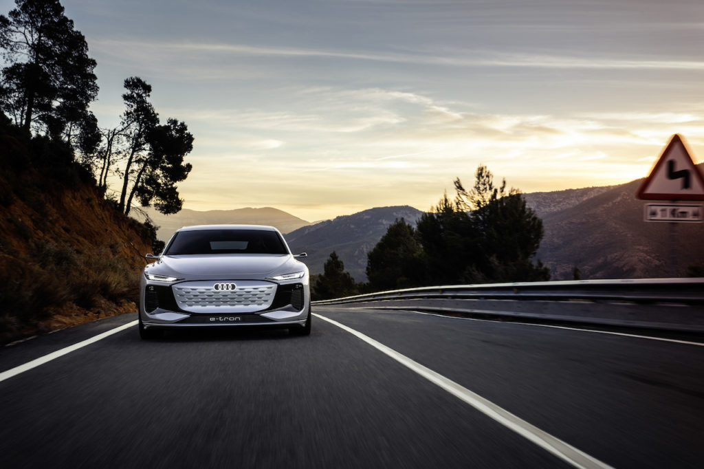 A tantalising peek at the future of electric cars, Audi has created an A6 e-tron concept that's sexy AF.