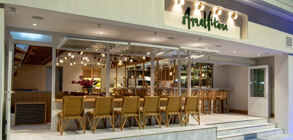 Just in time for those balmy summer evenings, Repulse Bay pizza restaurant Amalfitana has opened in the heart of Soho.
