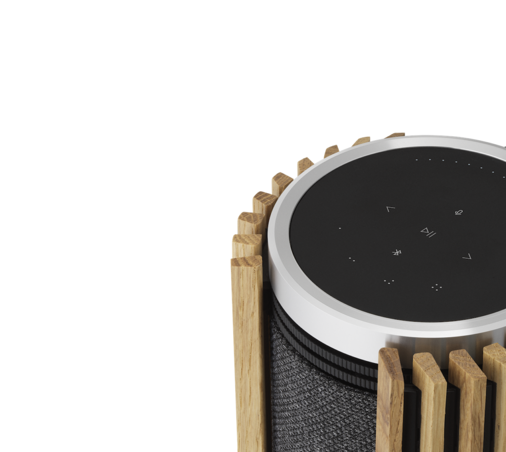 The new Beolab 28 wireless speakers from Bang & Olufsen turn any room into a dynamic home sound sphere.
