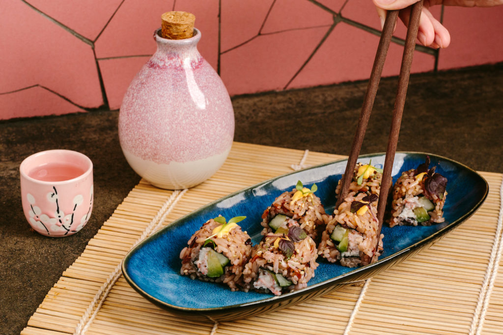 If you have a craving for a meal that's not quite breakfast and not quite lunch you're in luck as Uma Nota adds exciting new dishes by Okra chef Max Levy to its Sakura brunch.
