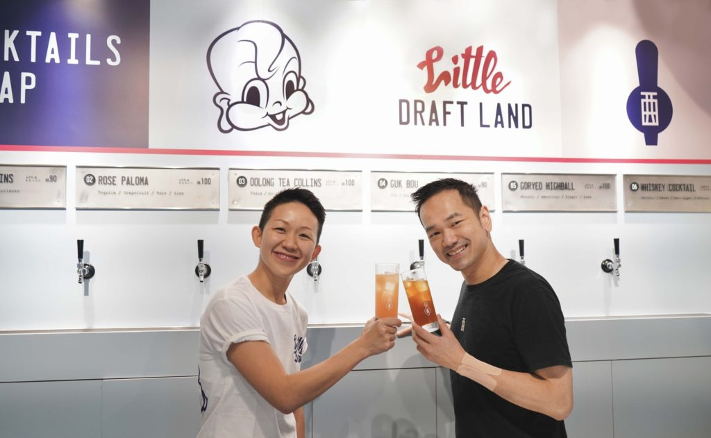 Acclaimed mixologist Antonio Lai joins forces with chef May Chow of Little Bao for a new Draft Land Pop-up in Causeway Bay.