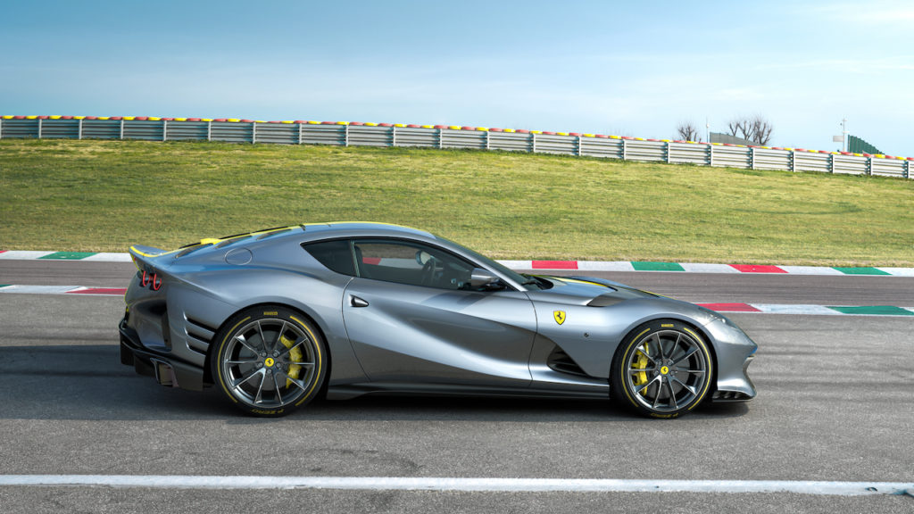 Ferrari takes its iconic 812 Superfast one step further with a new, 819bhp limited-edition rendition.