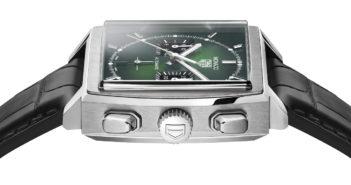 Coinciding with the 2021 Grand Prix de Monaco Historique, Tag Heuer releases the striking Monaco Green Dial Calibre Heuer 02.