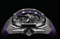 As part of its new partnership with Marvel Entertainment, Audemars Piguet has released a new Black Panther take on its classic Royal Oak timepiece.