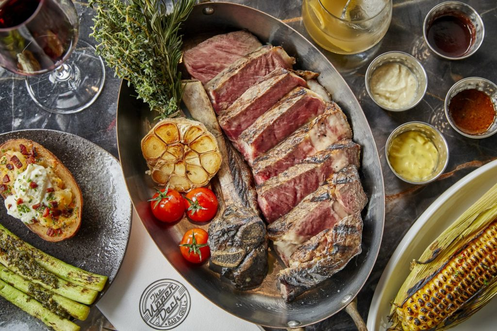 Upper Deck Bar & Grill, a new American steakhouse, has opened in Tung Chung's vibrant T Bay Precinct.