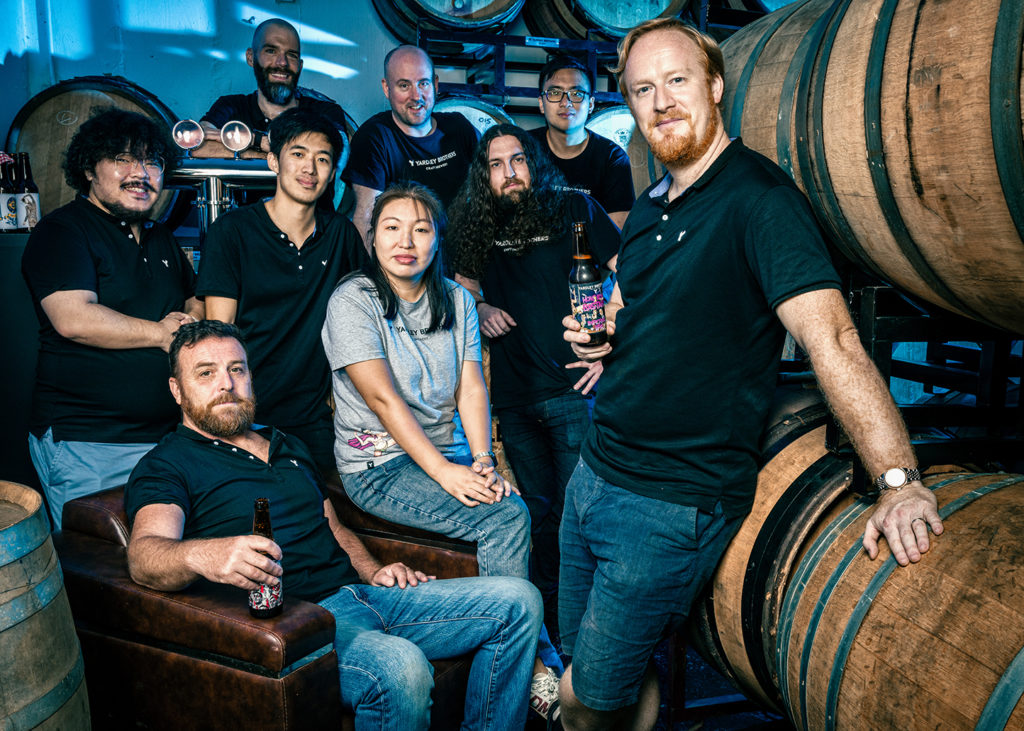 Yardley Brothers sees BUGS!, the first brew of its new barrel-aging program hit shelves and bar tops across Hong Kong.