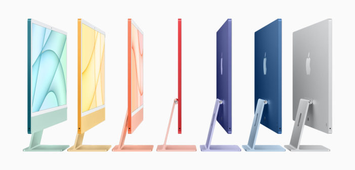 Apple launches its much-anticipated M1 iMac with a new streamlined design and some pretty sensational colour schemes.