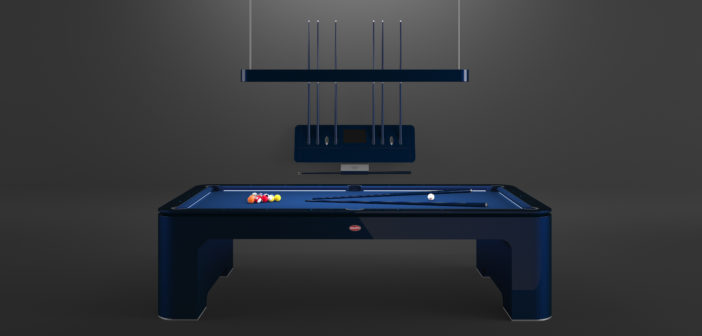 Heavens knows you've always wanted a Bugatti parked in the driveway, but for something a little more manageable, there's the Bugatti pool table.